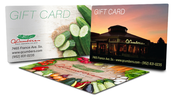 Q. Cumbers Gift Cards